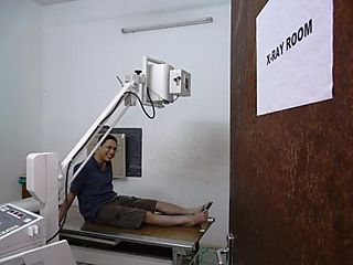In the x-ray room
